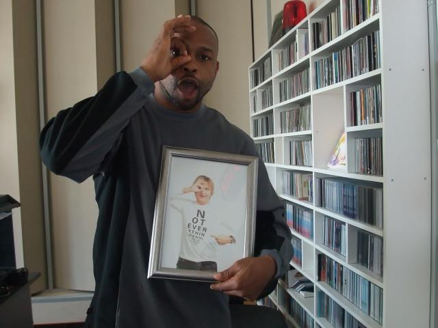 Рой Джонс на радио SWH плюс