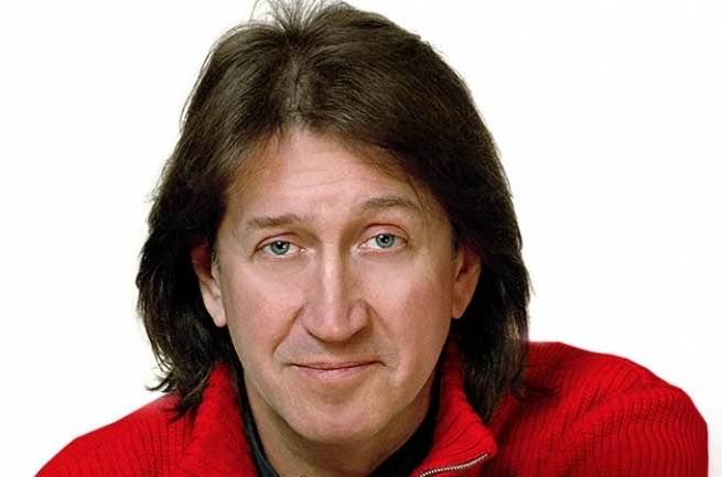 Hа интервью Олег Митяев
